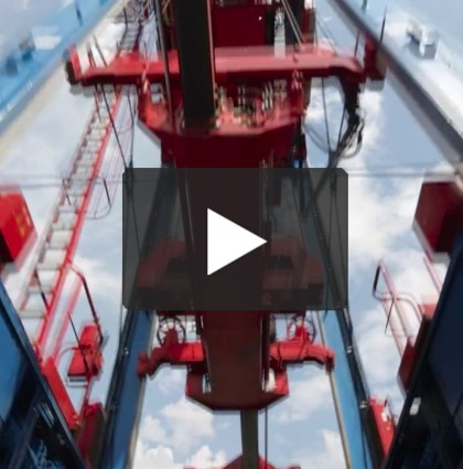 container terminal messefilm